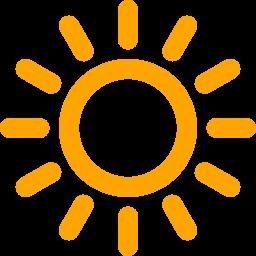 ikona słońce